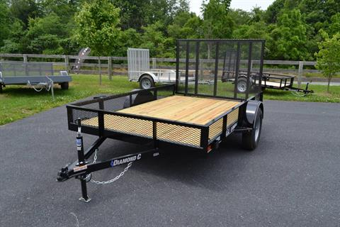 2019 Diamond C 10X77 GSA Utility Trailer Mesh in Harrisburg, Pennsylvania - Photo 1