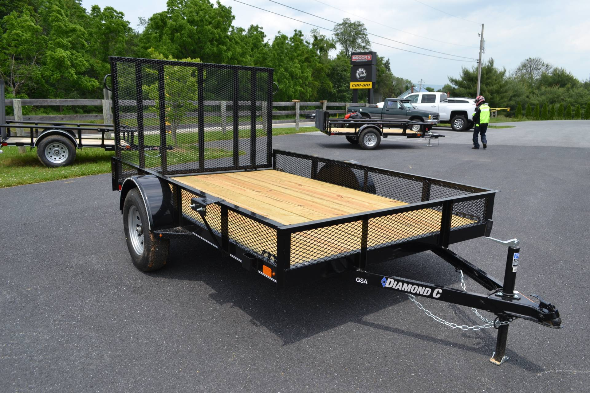 2019 Diamond C 10X77 GSA Utility Trailer Mesh in Harrisburg, Pennsylvania - Photo 11
