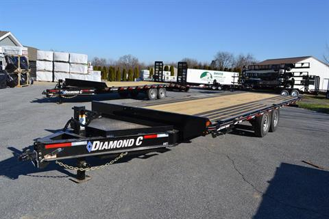 2020 Diamond C 24x102 DET Equipment Trailer Full Tilt in Harrisburg, Pennsylvania - Photo 1