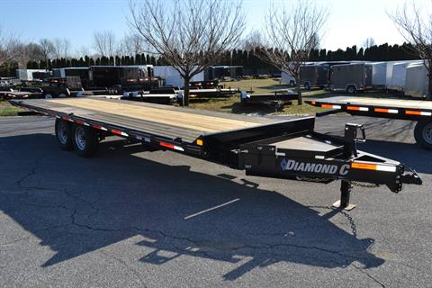 2020 Diamond C 24x102 DET Equipment Trailer Full Tilt in Harrisburg, Pennsylvania - Photo 6