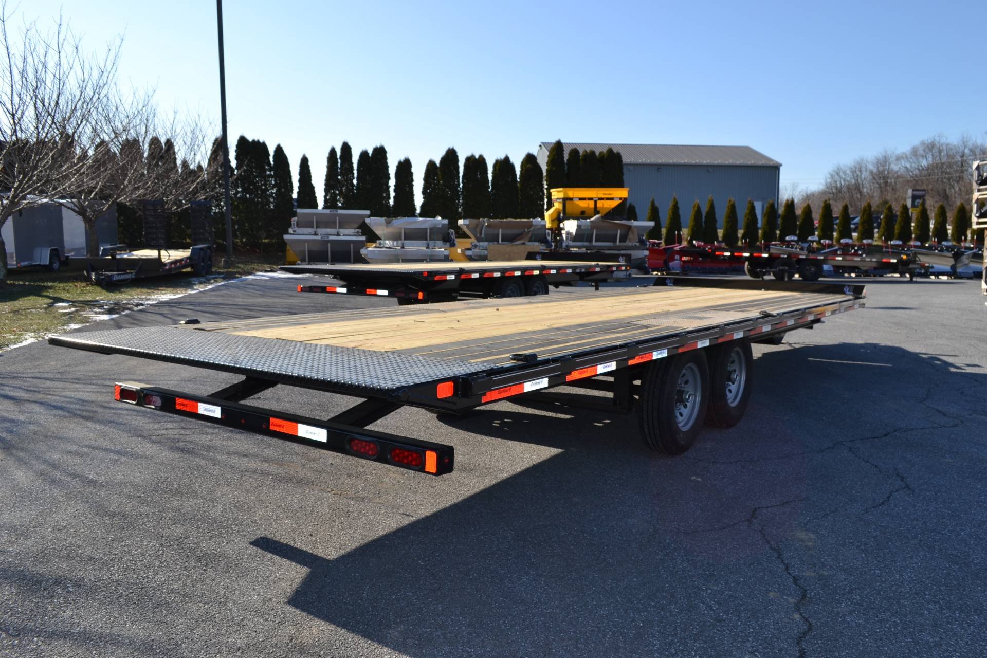 2020 Diamond C 24x102 DET Equipment Trailer Full Tilt in Harrisburg, Pennsylvania - Photo 8