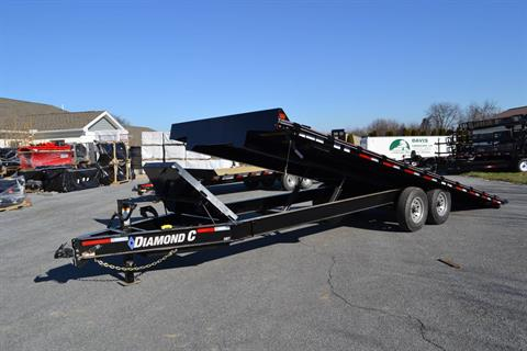 2020 Diamond C 24x102 DET Equipment Trailer Full Tilt in Harrisburg, Pennsylvania - Photo 12