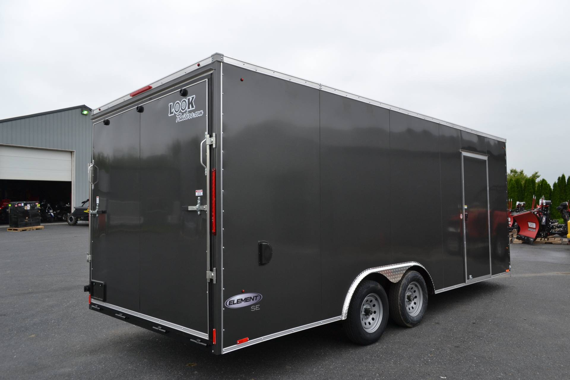 2021 Look Trailers 8.5X20 EWLC Cargo Trailer Ramp ET-10K in Harrisburg, Pennsylvania - Photo 5