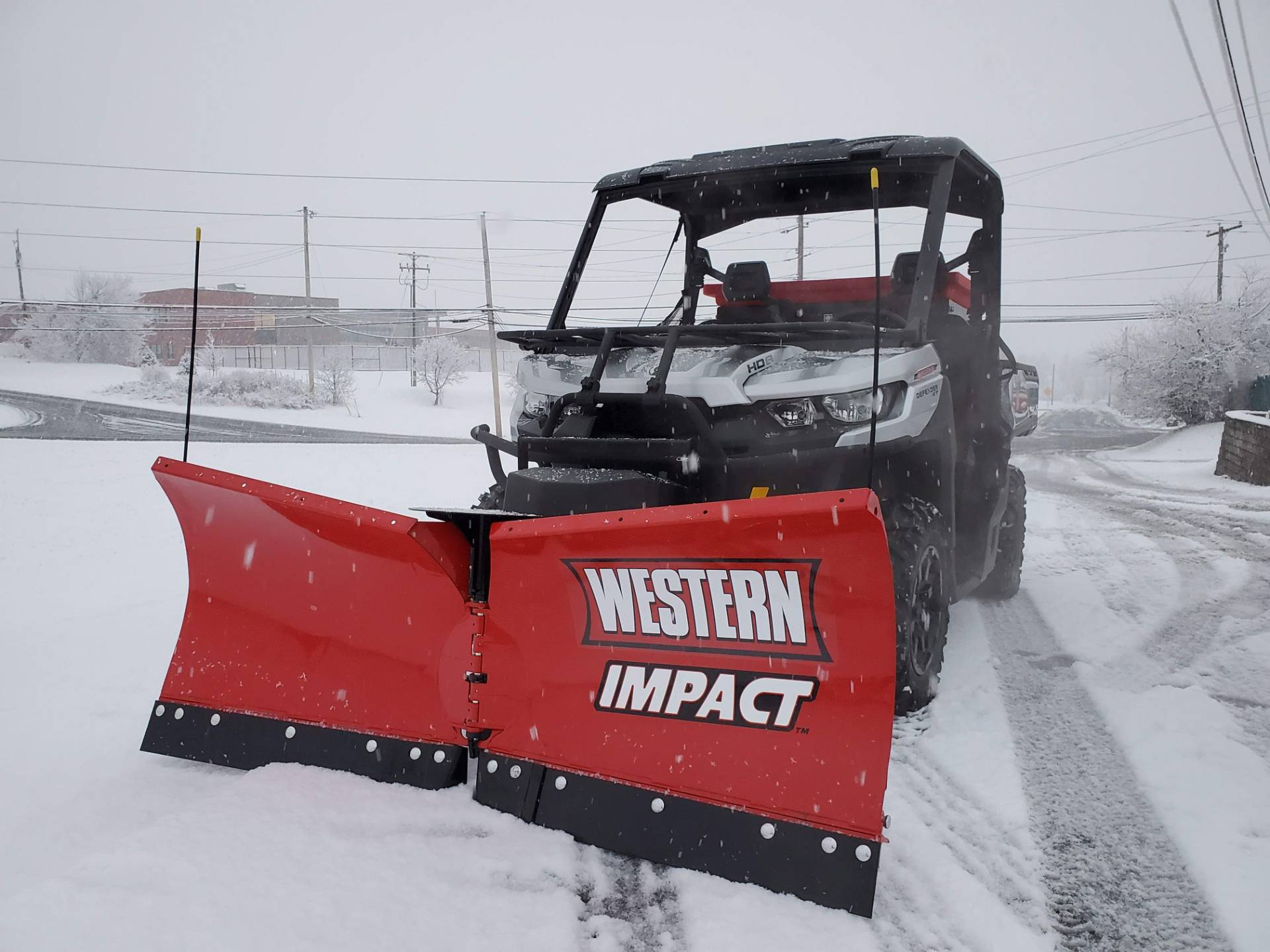 Western Snowplows 2019 Can-Am Defender XT HD8 W/ Impact Plow & Spreader in Harrisburg, Pennsylvania - Photo 1