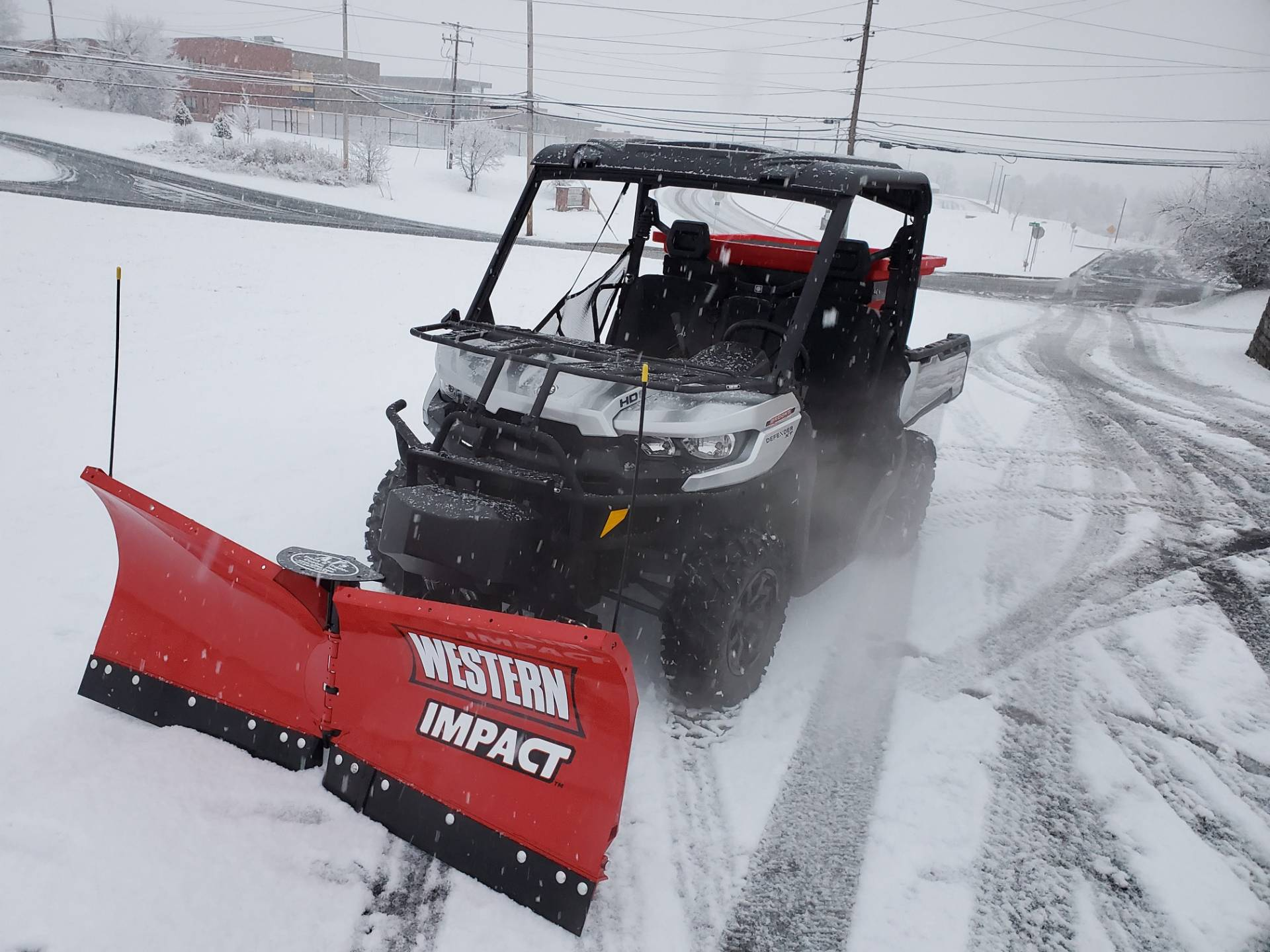 Western Snowplows 2019 Can-Am Defender XT HD8 W/ Impact Plow & Spreader in Harrisburg, Pennsylvania - Photo 6