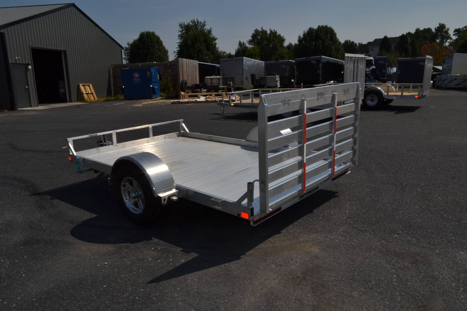 2020 Carry-On Trailers 6.5x10 AGA Aluminum Utility Trailer 2K in Harrisburg, Pennsylvania - Photo 8