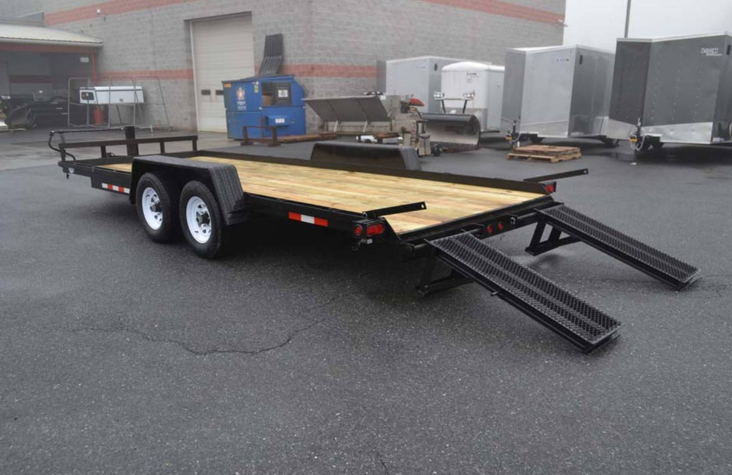 2020 TWF MFG 7X20 NNT Equipment Trailer 12K in Harrisburg, Pennsylvania - Photo 4
