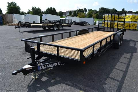 2019 Diamond C 24X82 14TUT-Utility Trailer DV-MESH in Harrisburg, Pennsylvania - Photo 1