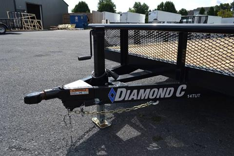 2019 Diamond C 24X82 14TUT-Utility Trailer DV-MESH in Harrisburg, Pennsylvania - Photo 2