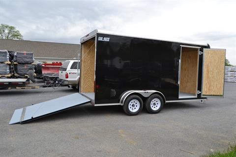 "2021 Car Mate Trailers 7x16 Enclosed Cargo Trailer Ramp +12"" in Harrisburg, Pennsylvania - Photo 6"