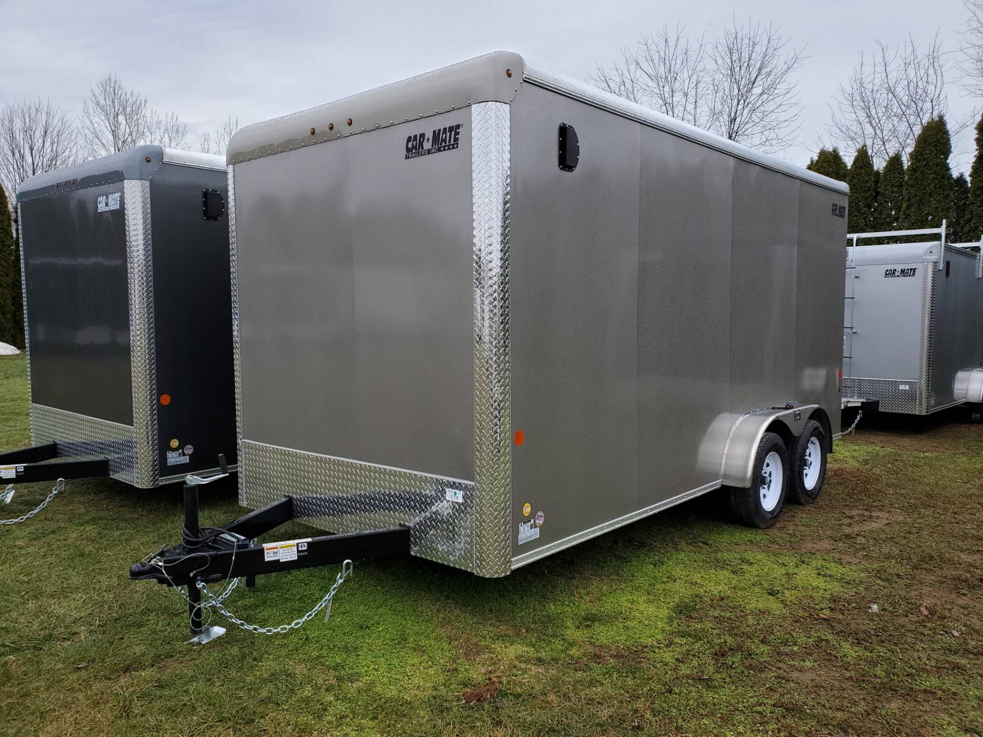"2021 Car Mate Trailers 7x16 Enclosed Cargo Trailer Ramp +12"" in Harrisburg, Pennsylvania - Photo 1"