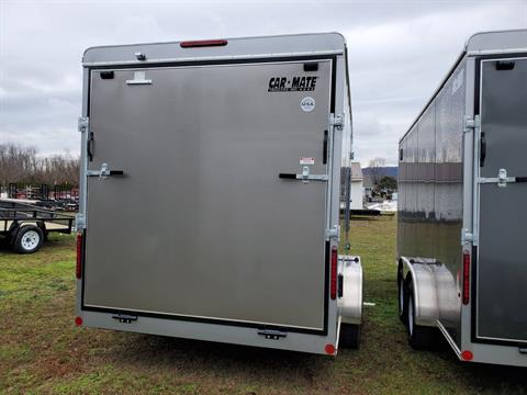 "2021 Car Mate Trailers 7x16 Enclosed Cargo Trailer Ramp +12"" in Harrisburg, Pennsylvania - Photo 3"
