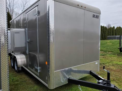 "2021 Car Mate Trailers 7x16 Enclosed Cargo Trailer Ramp +12"" in Harrisburg, Pennsylvania - Photo 5"