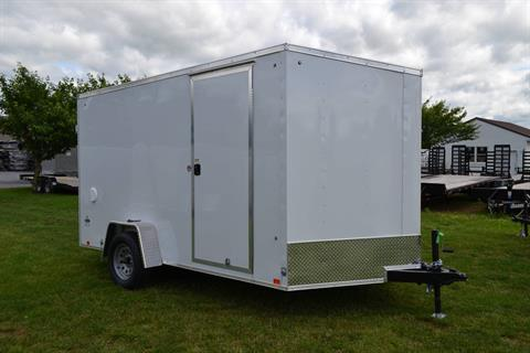 2020 Look Trailers 7X12 STDLX Cargo Trailer Double Door +6 in Harrisburg, Pennsylvania - Photo 2