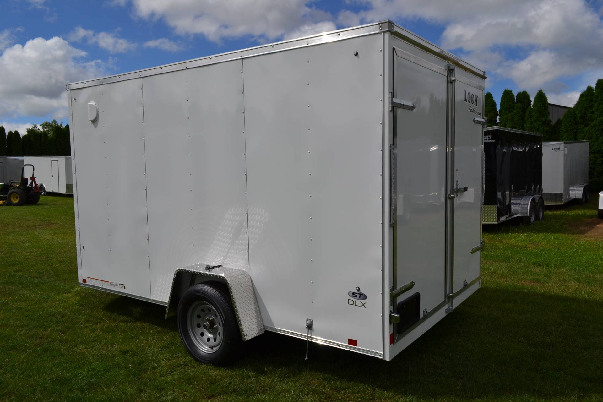 2020 Look Trailers 7X12 STDLX Cargo Trailer Double Door +6 in Harrisburg, Pennsylvania - Photo 8