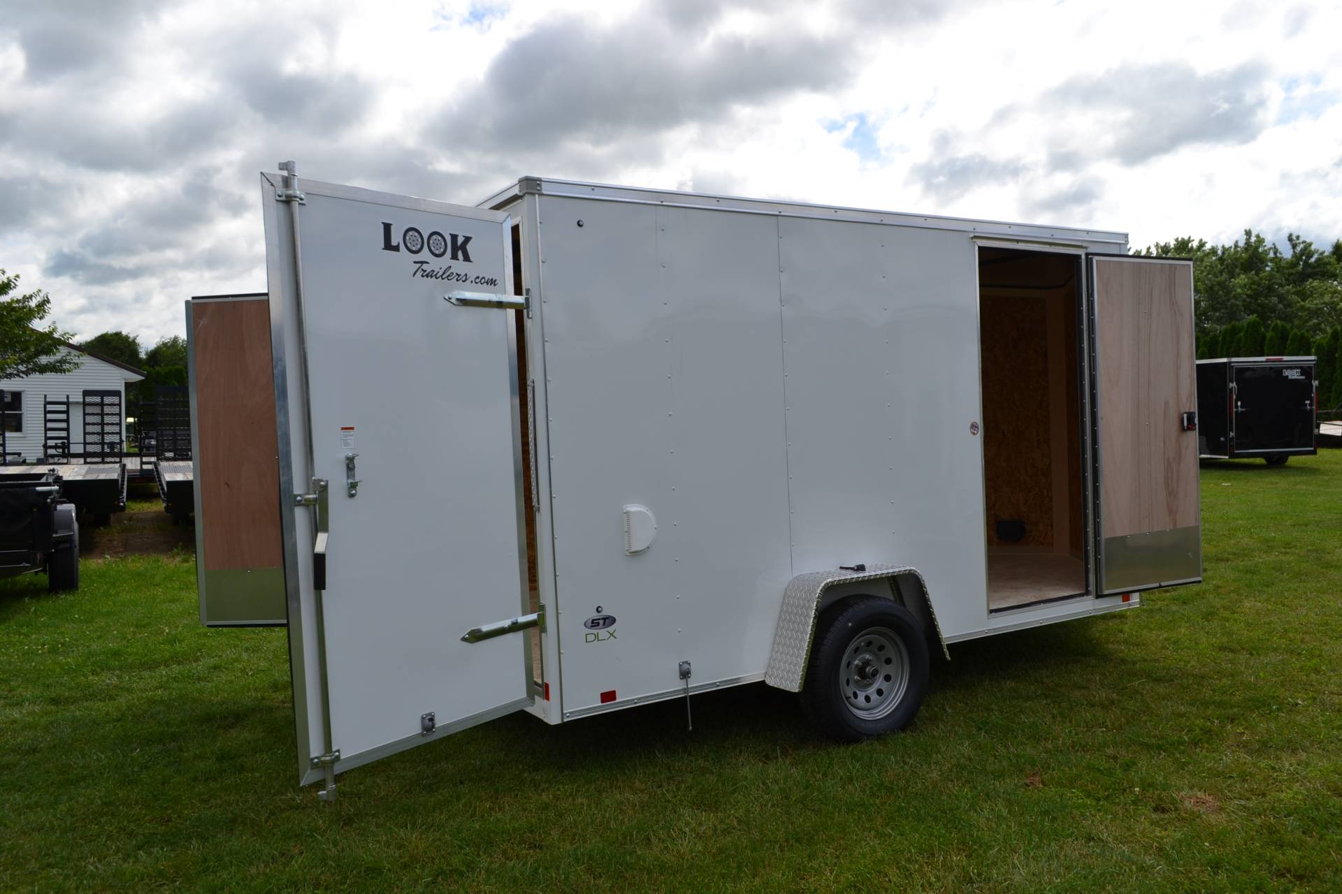 2020 Look Trailers 7X12 STDLX Cargo Trailer Double Door +6 in Harrisburg, Pennsylvania - Photo 14