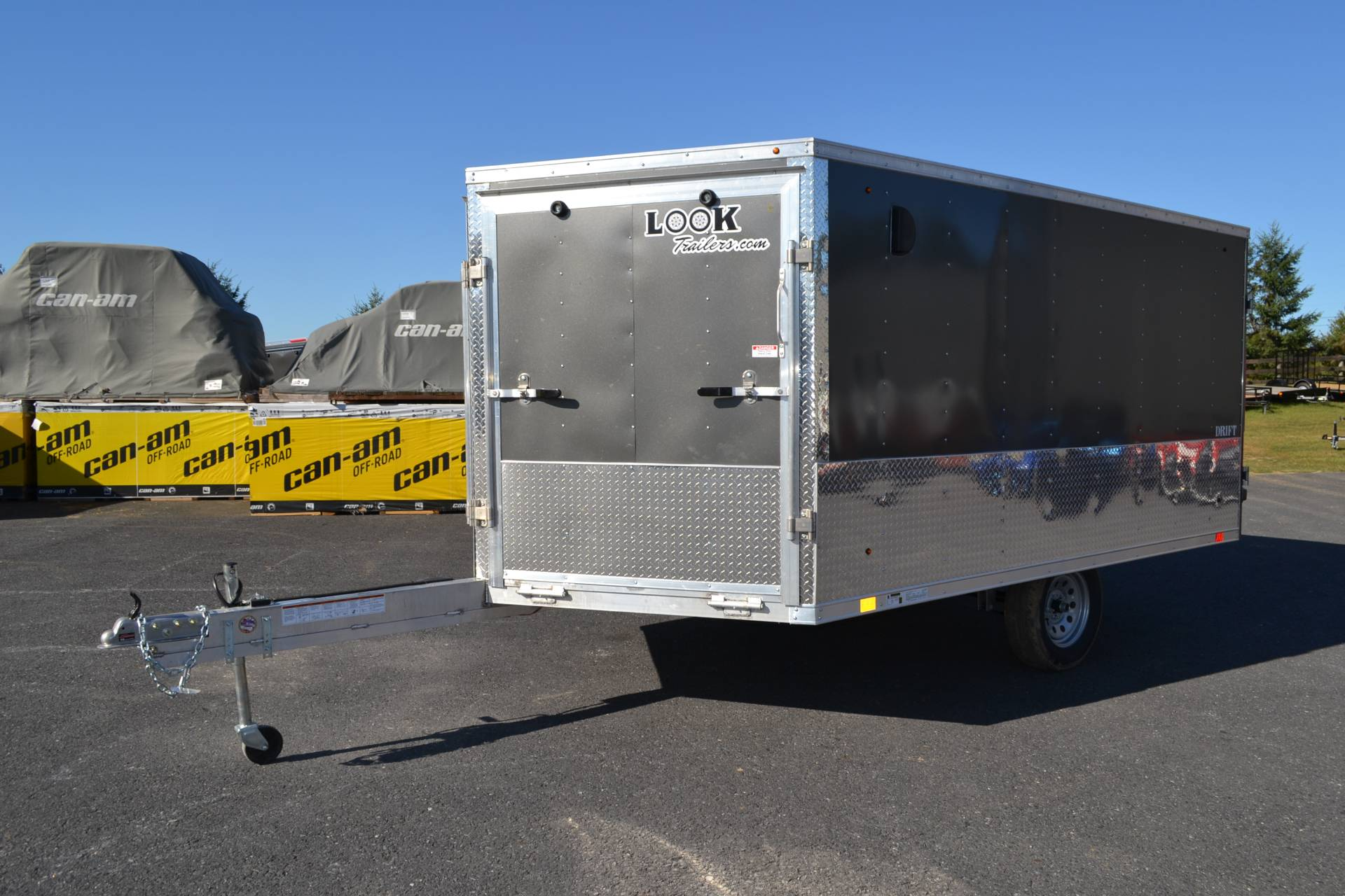 2020 Look Trailers 8.5x12 AEDFT Drift Aluminum Enclosed Snowmobile Trailer 3.5K in Harrisburg, Pennsylvania - Photo 1