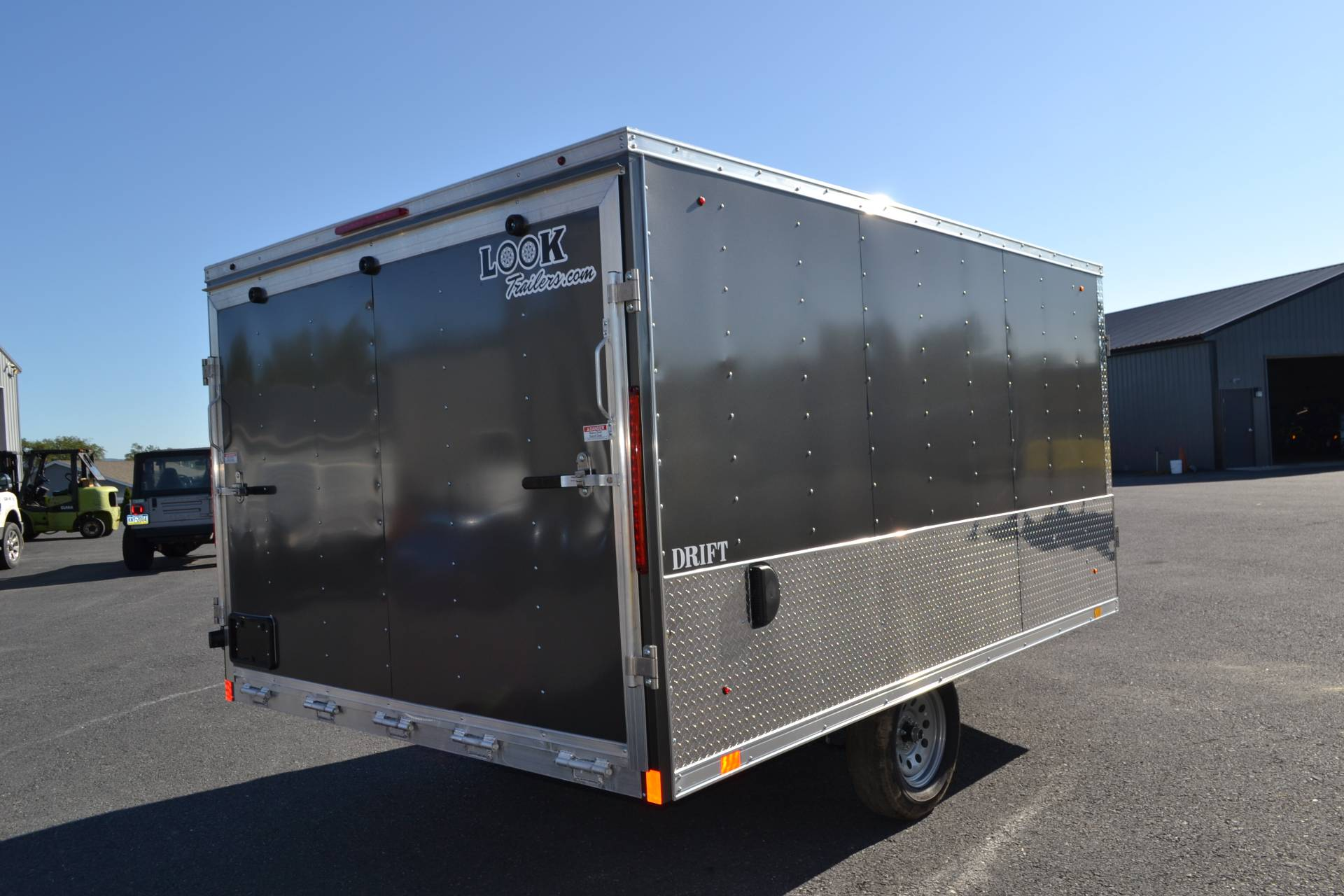 2020 Look Trailers 8.5x12 AEDFT Drift Aluminum Enclosed Snowmobile Trailer 3.5K in Harrisburg, Pennsylvania - Photo 6