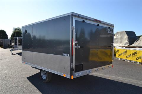 2020 Look Trailers 8.5x12 AEDFT Drift Aluminum Enclosed Snowmobile Trailer 3.5K in Harrisburg, Pennsylvania - Photo 7