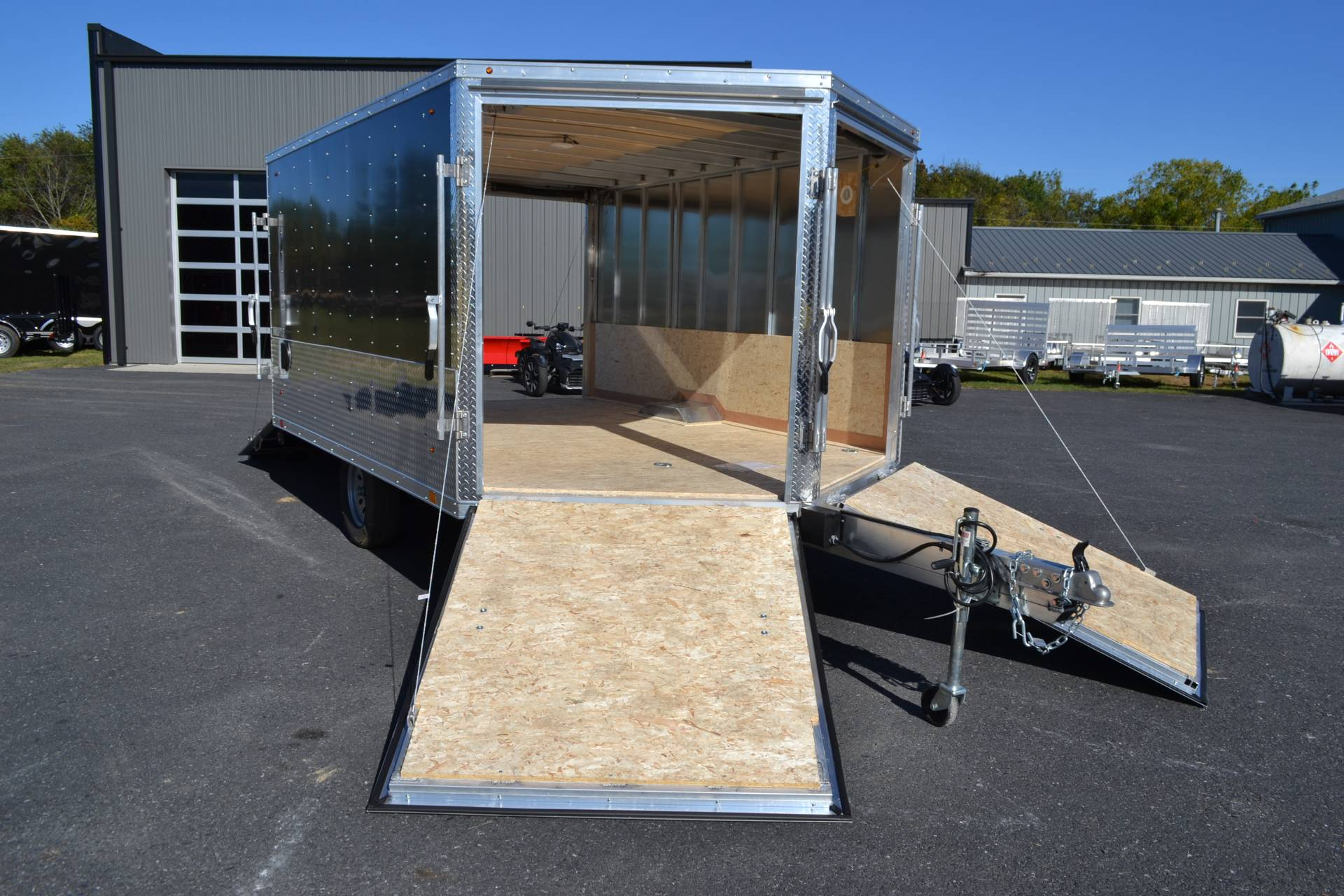 2020 Look Trailers 8.5x12 AEDFT Drift Aluminum Enclosed Snowmobile Trailer 3.5K in Harrisburg, Pennsylvania - Photo 12