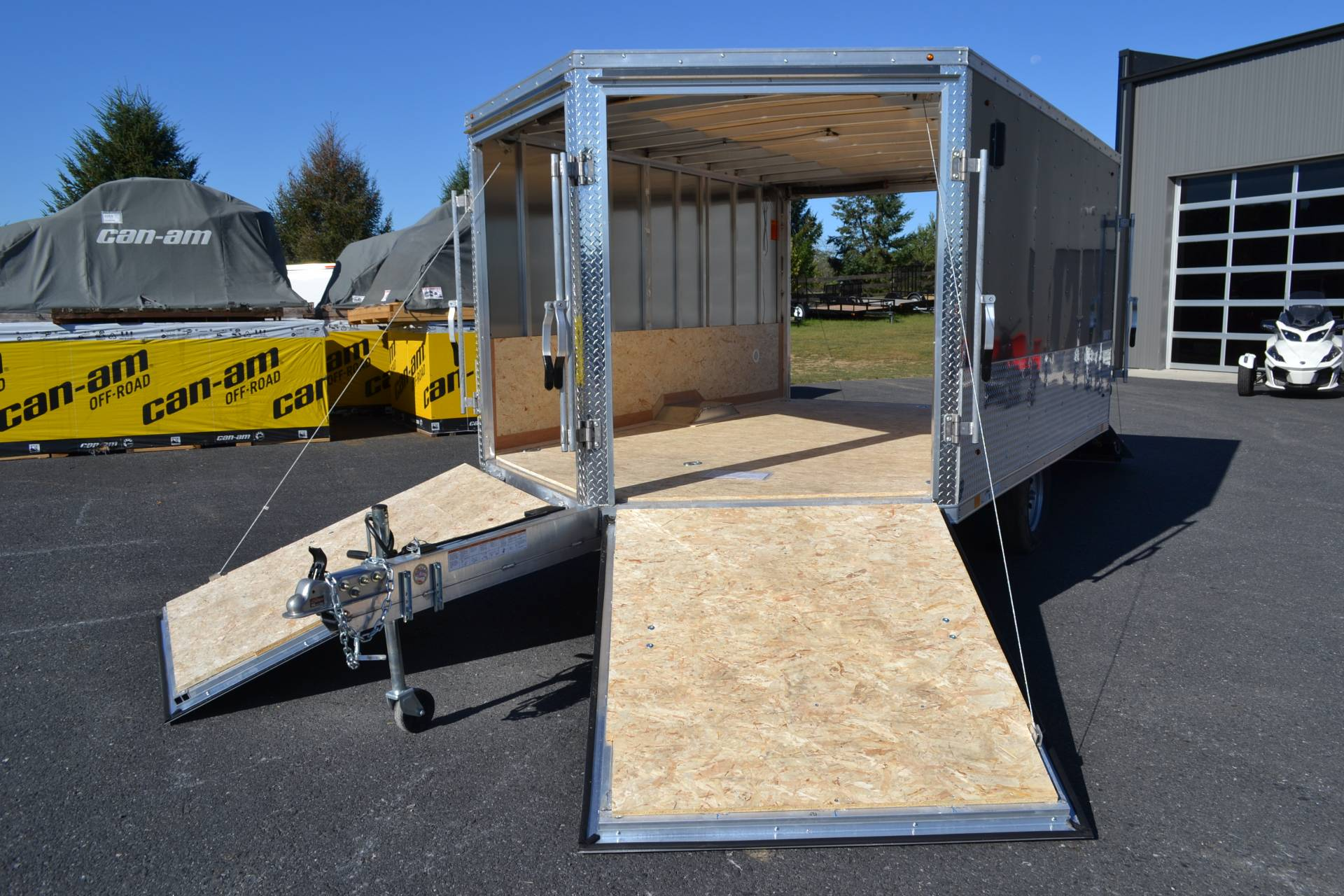 2020 Look Trailers 8.5x12 AEDFT Drift Aluminum Enclosed Snowmobile Trailer 3.5K in Harrisburg, Pennsylvania - Photo 13