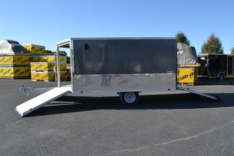 2020 Look Trailers 8.5x12 AEDFT Drift Aluminum Enclosed Snowmobile Trailer 3.5K in Harrisburg, Pennsylvania - Photo 14