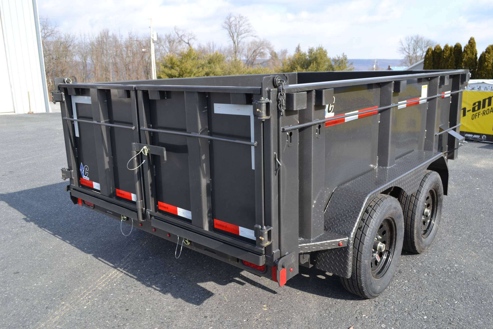 2020 Diamond C 10X60 EDG Dump Trailer 7K- 32HS in Harrisburg, Pennsylvania - Photo 6