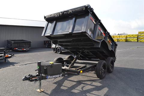 2020 Diamond C 10X60 EDG Dump Trailer 7K- 32HS in Harrisburg, Pennsylvania - Photo 14