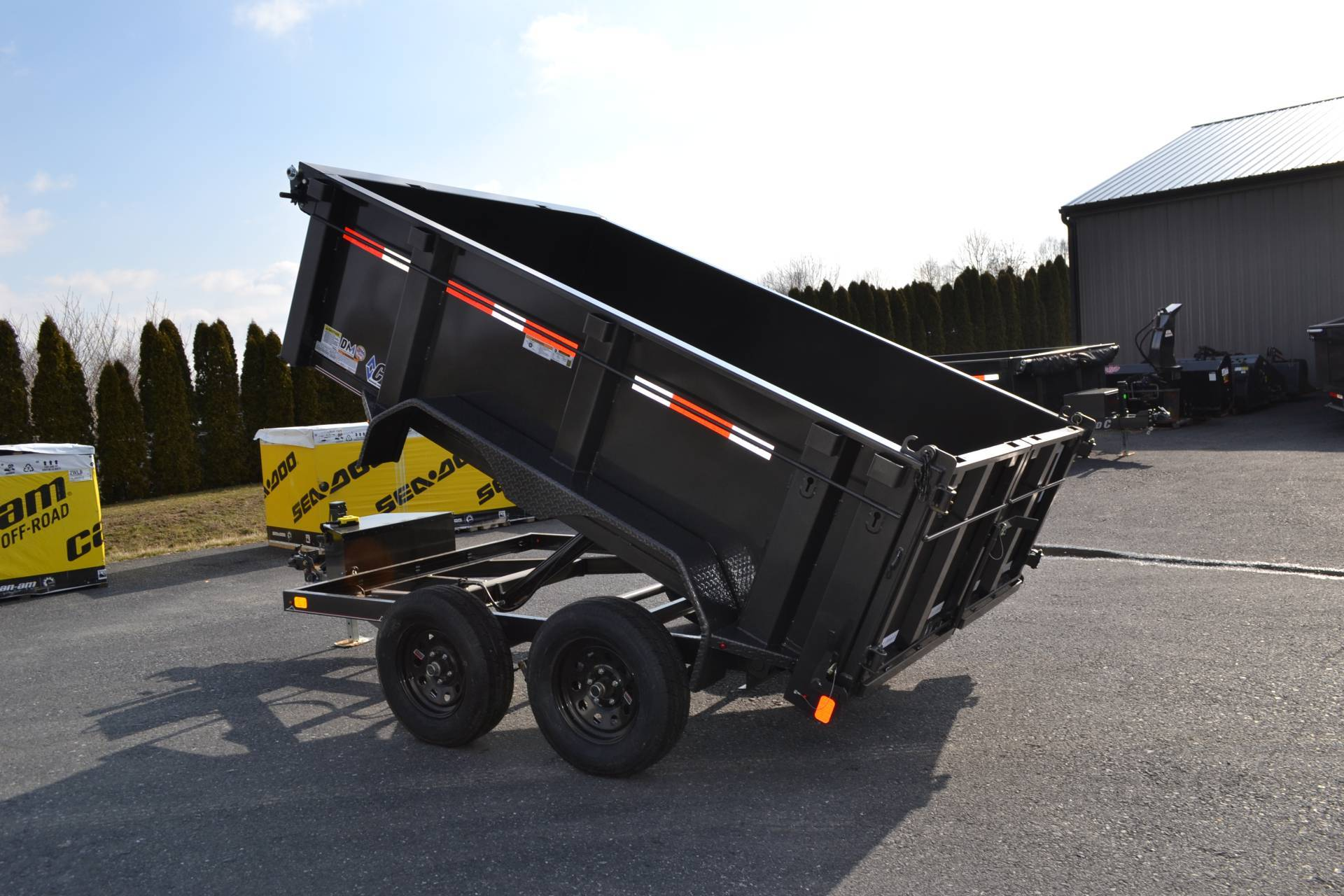 2020 Diamond C 10X60 EDG Dump Trailer 7K- 32HS in Harrisburg, Pennsylvania - Photo 15