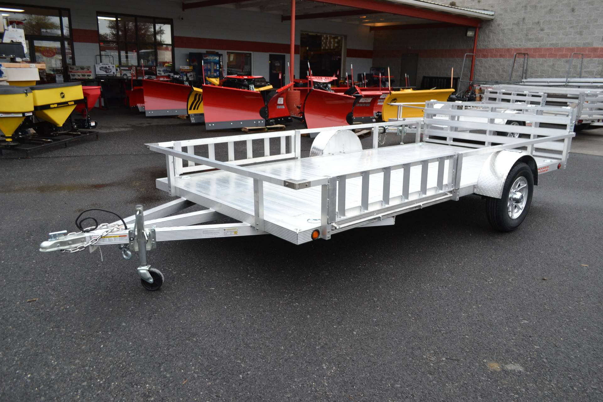 2022 Primo 82x12 Single Axle ATV Side Load ATV Ramps in Harrisburg, Pennsylvania - Photo 1