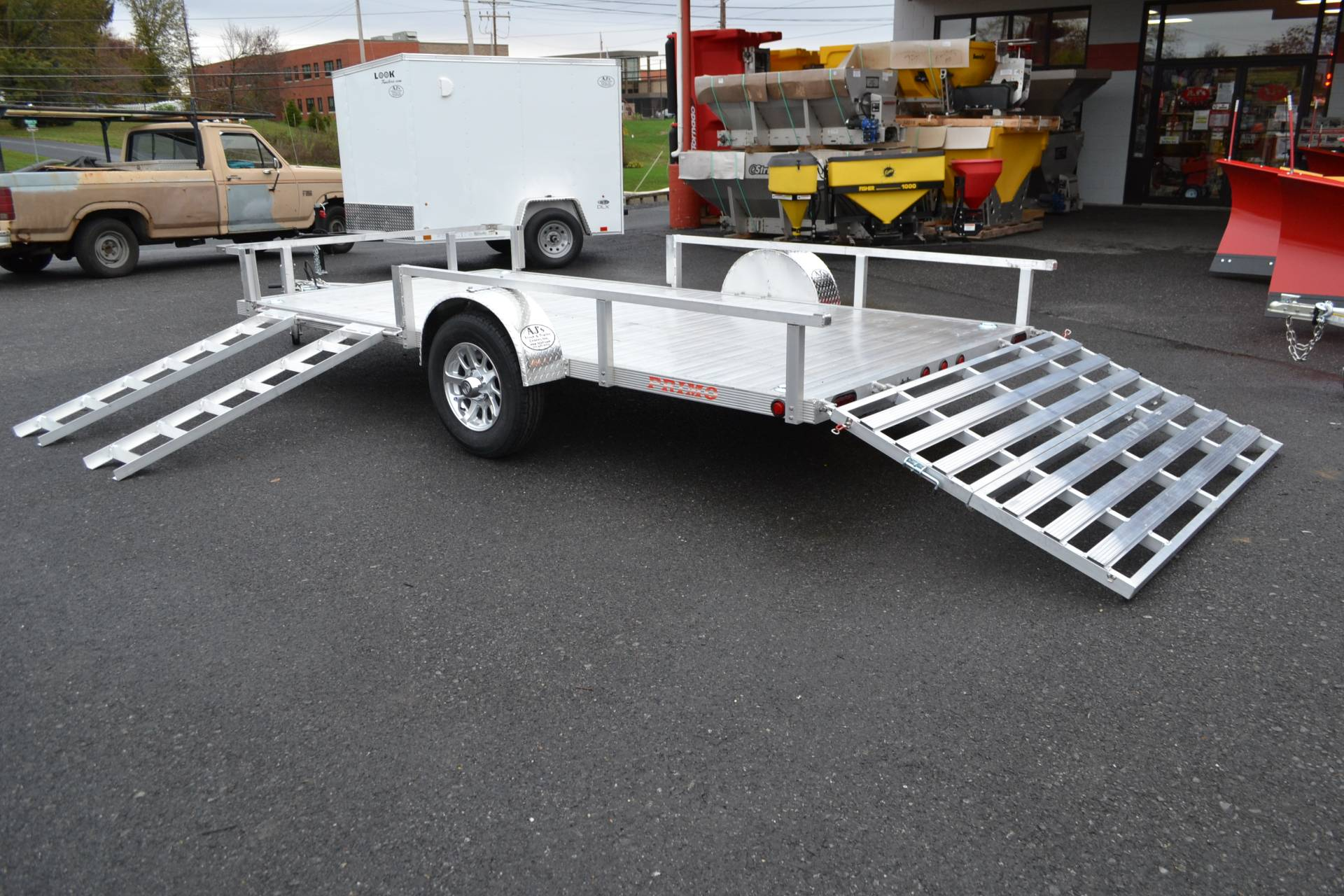 2022 Primo 82x12 Single Axle ATV Side Load ATV Ramps in Harrisburg, Pennsylvania - Photo 10