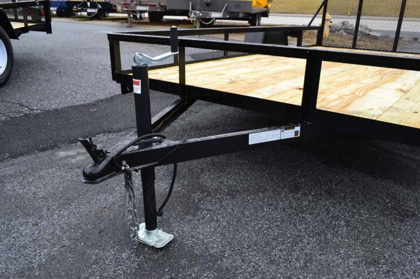 2020 TWF MFG 12X76 NNT Utility Trailer LED in Harrisburg, Pennsylvania - Photo 2