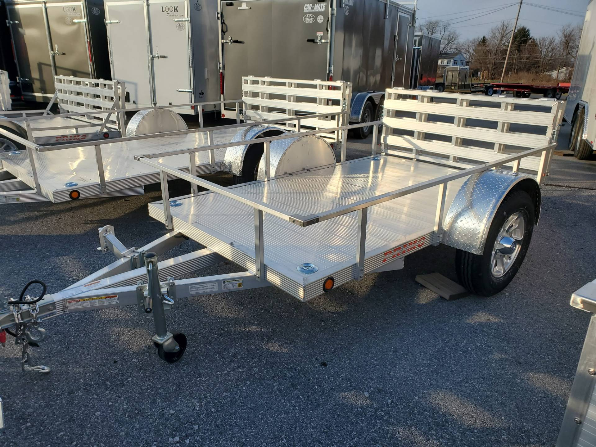 2021 Primo 60x8 Single Axle Utility in Harrisburg, Pennsylvania - Photo 10