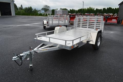 2020 AJ'S  5X10 Aluminum Utility Trailer in Harrisburg, Pennsylvania - Photo 1