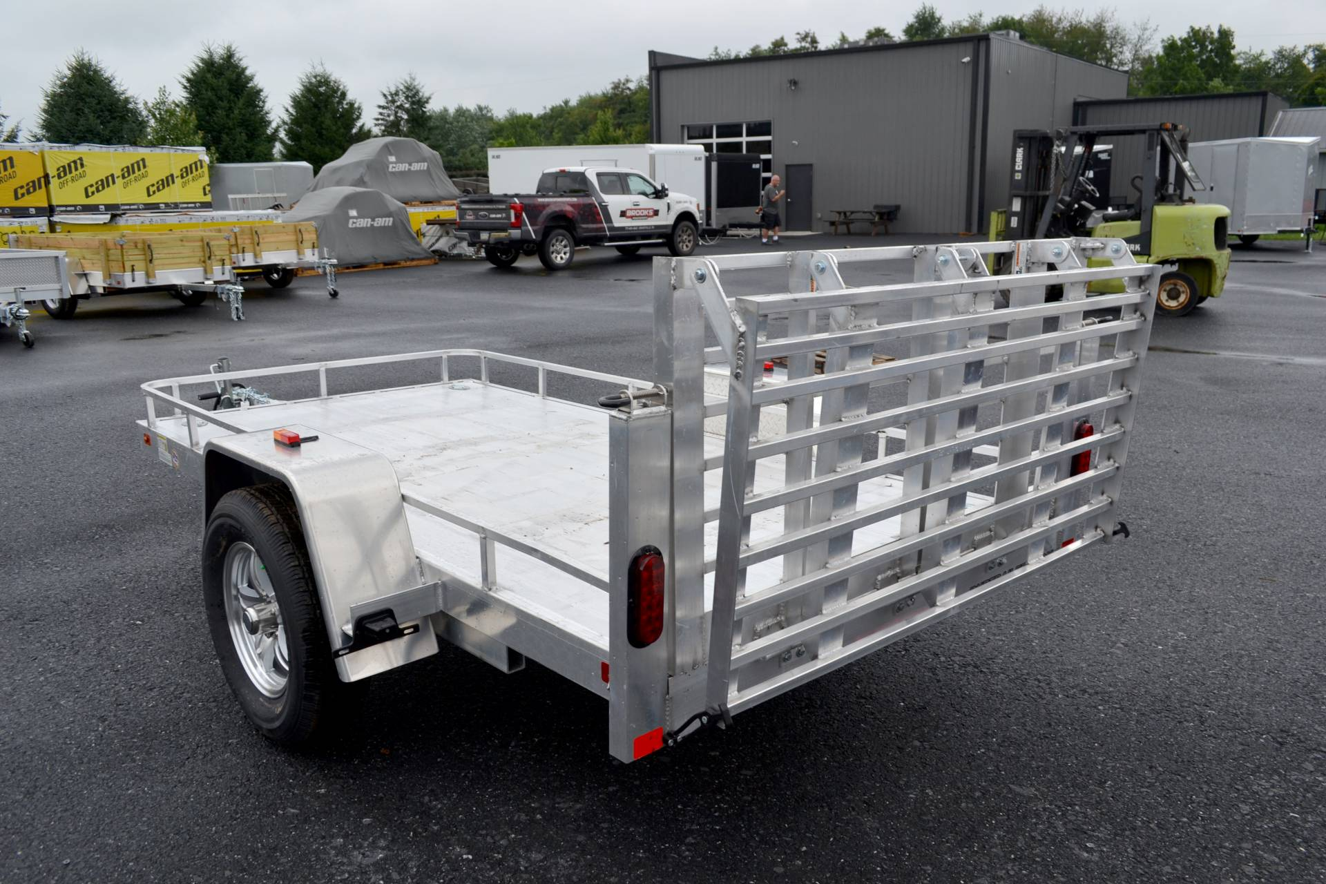 2020 AJ'S  5X10 Aluminum Utility Trailer in Harrisburg, Pennsylvania - Photo 2