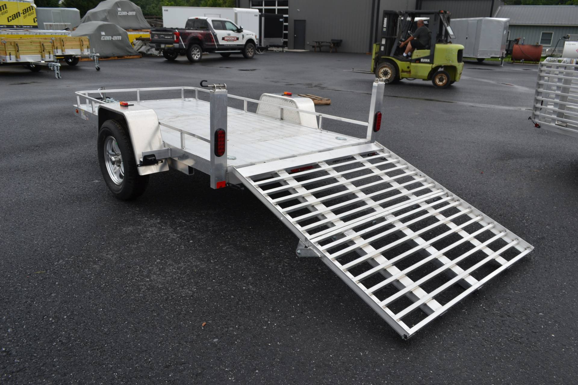 2020 AJ'S  5X10 Aluminum Utility Trailer in Harrisburg, Pennsylvania - Photo 3