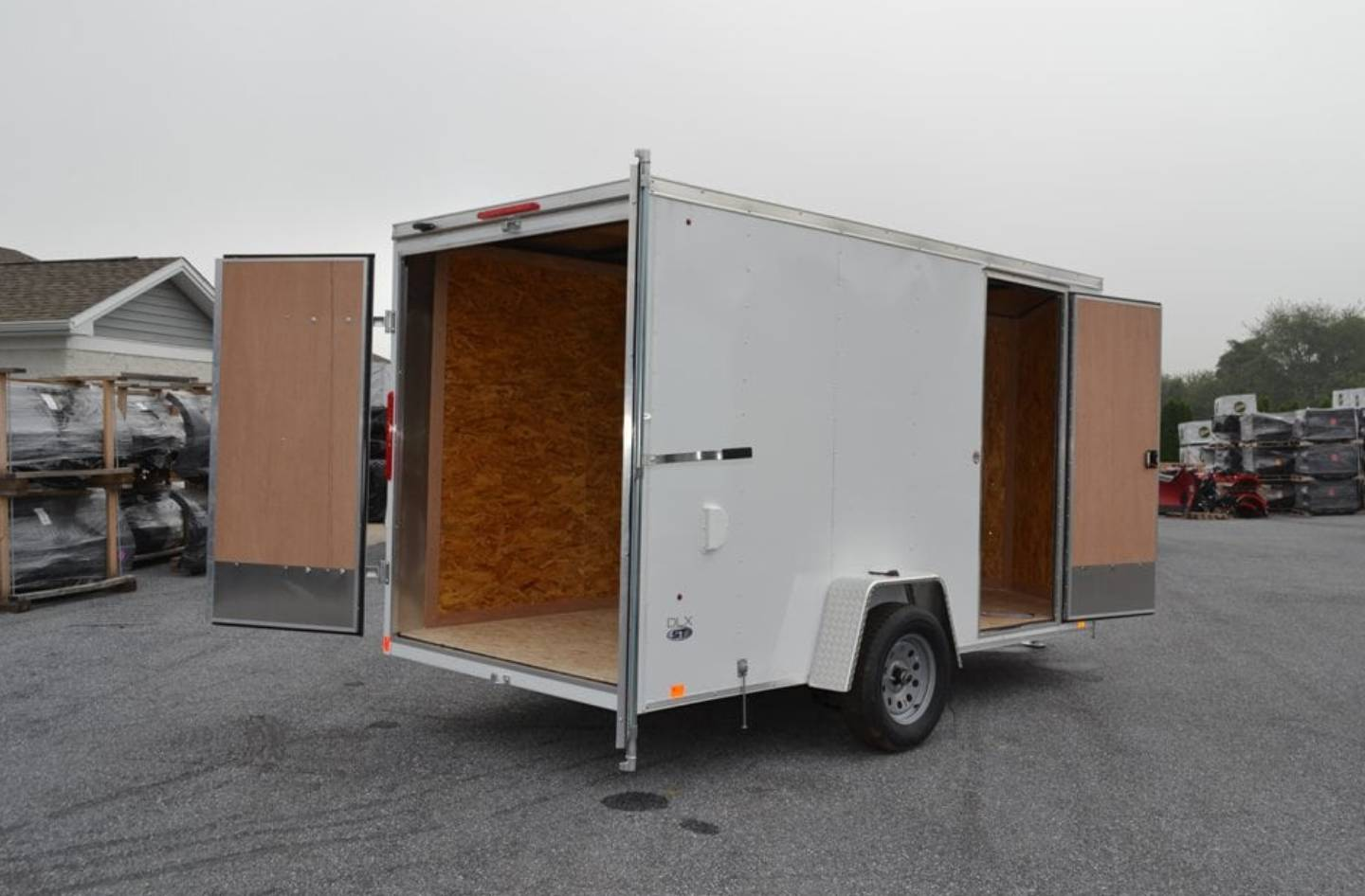2020 Look Trailers 6X12 STDLX Cargo Trailer Double Door +6 in Harrisburg, Pennsylvania - Photo 7
