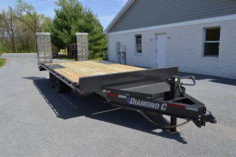 2019 Diamond C 20x102 DEC Equipment Trailer XWR in Harrisburg, Pennsylvania