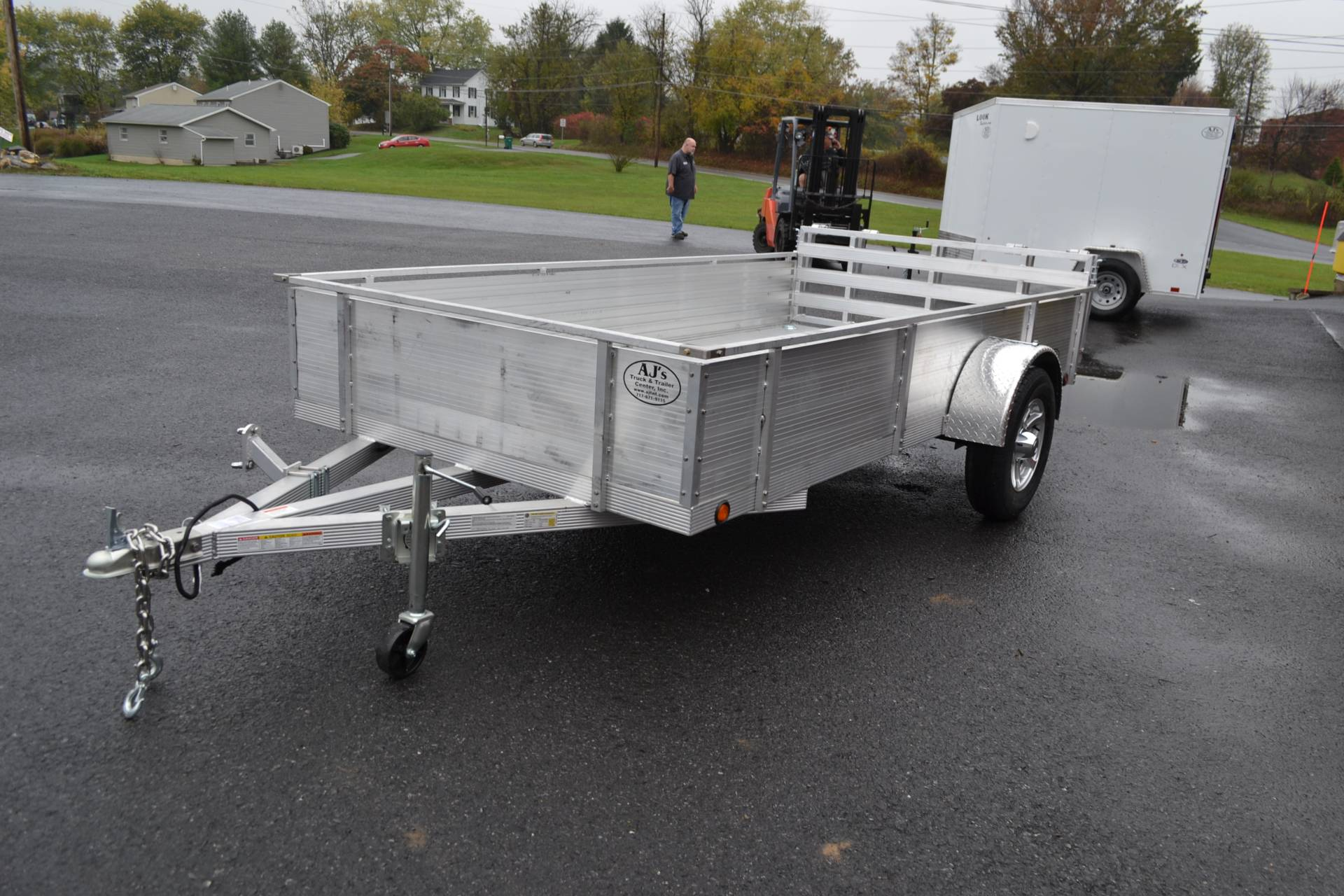 2021 Primo 72x12 Single Axle Utility - 16 High Solid Side in Harrisburg, Pennsylvania - Photo 1
