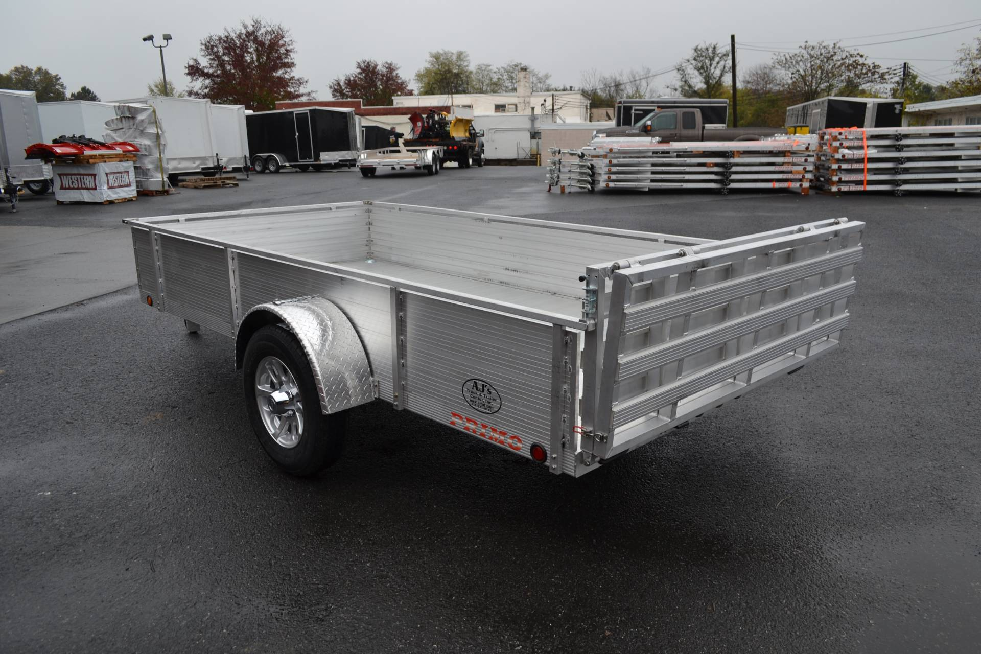 2021 Primo 72x12 Single Axle Utility - 16 High Solid Side in Harrisburg, Pennsylvania - Photo 8