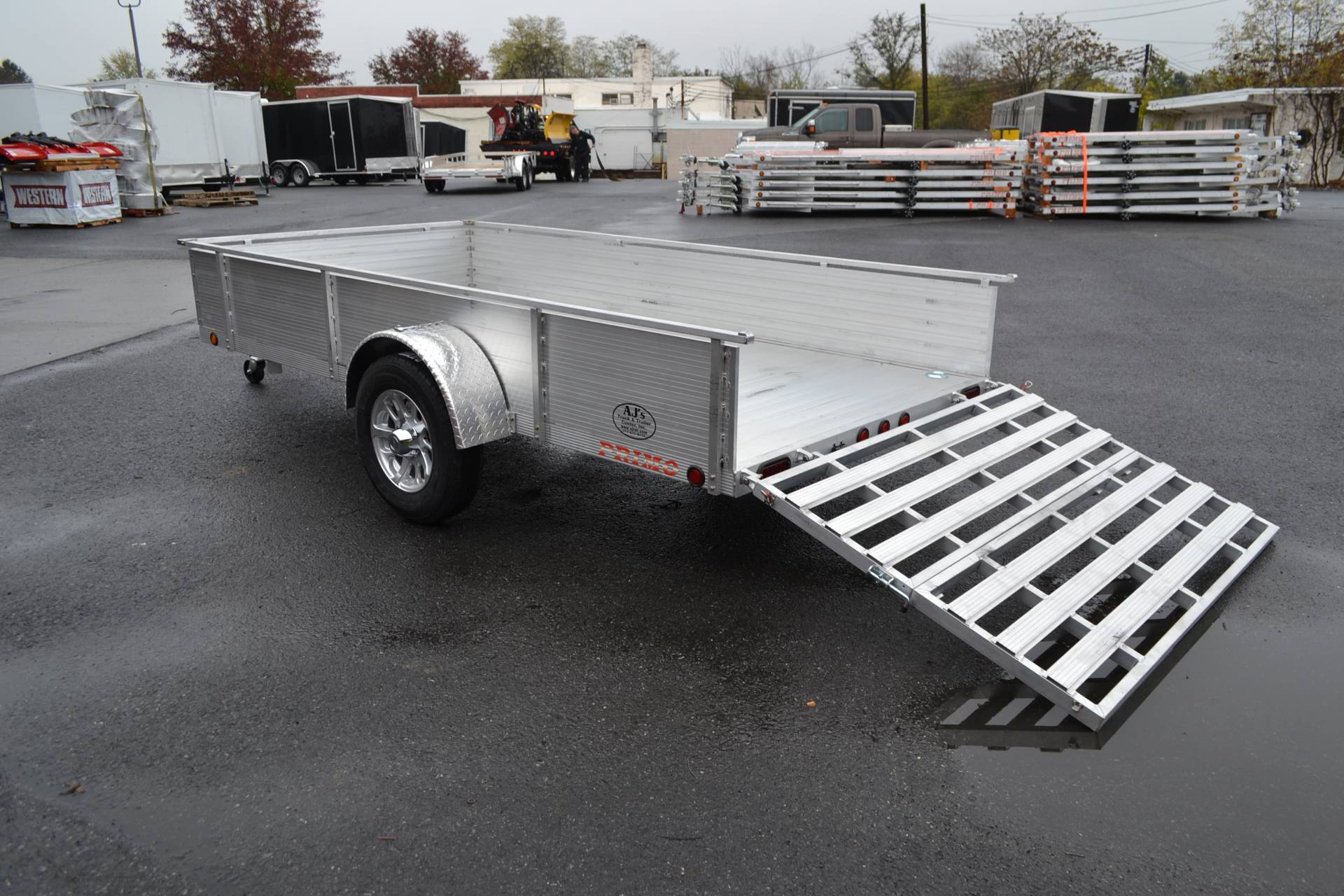 2021 Primo 72x12 Single Axle Utility - 16 High Solid Side in Harrisburg, Pennsylvania - Photo 12