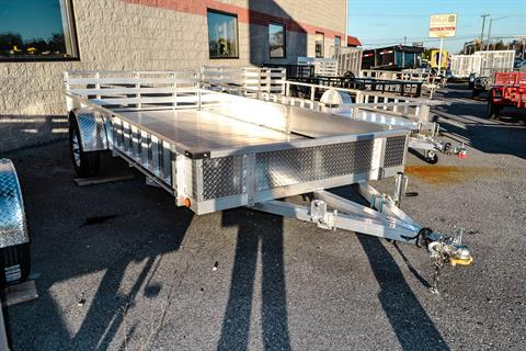 2021 Primo 82x14 Single Axle ATV Side Load ATV Ramps SS in Harrisburg, Pennsylvania - Photo 1