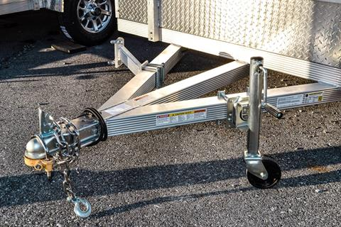 2021 Primo 82x14 Single Axle ATV Side Load ATV Ramps SS in Harrisburg, Pennsylvania - Photo 2