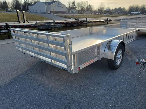 2021 Primo 82x14 Single Axle ATV Side Load ATV Ramps SS in Harrisburg, Pennsylvania - Photo 11