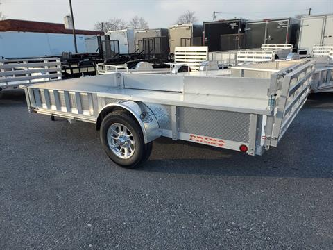 2021 Primo 82x14 Single Axle ATV Side Load ATV Ramps SS in Harrisburg, Pennsylvania - Photo 12