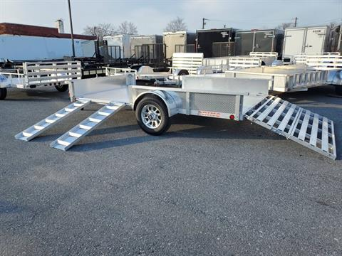 2021 Primo 82x14 Single Axle ATV Side Load ATV Ramps SS in Harrisburg, Pennsylvania - Photo 17