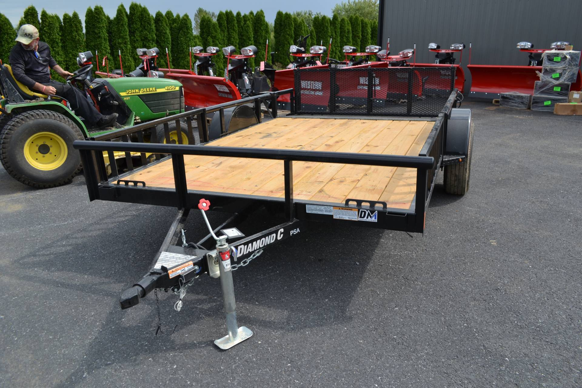 2020 Diamond C 12x82 PSA ATV Trailer DV PT 5K in Harrisburg, Pennsylvania - Photo 1