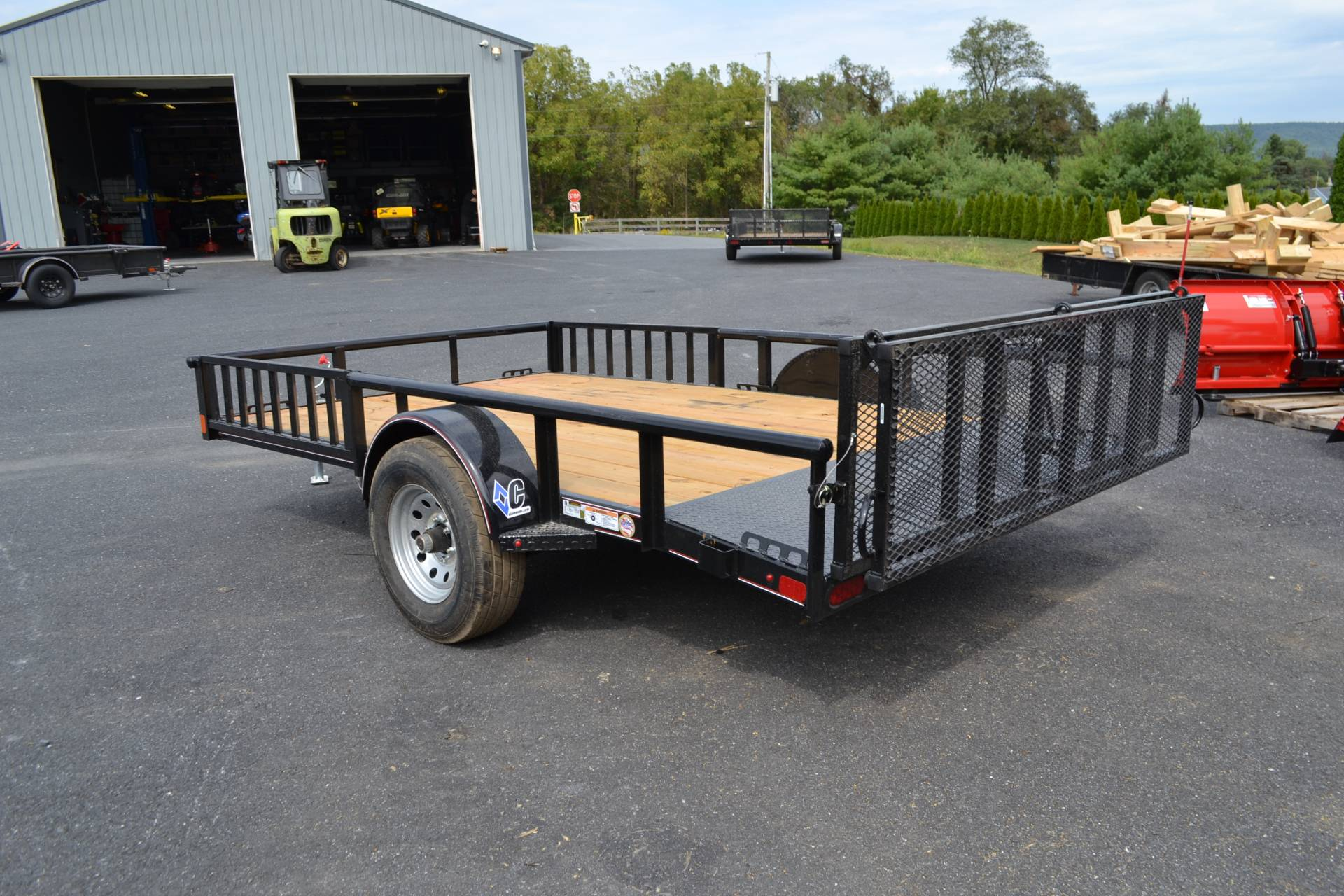 2020 Diamond C 12x82 PSA ATV Trailer DV PT 5K in Harrisburg, Pennsylvania - Photo 9
