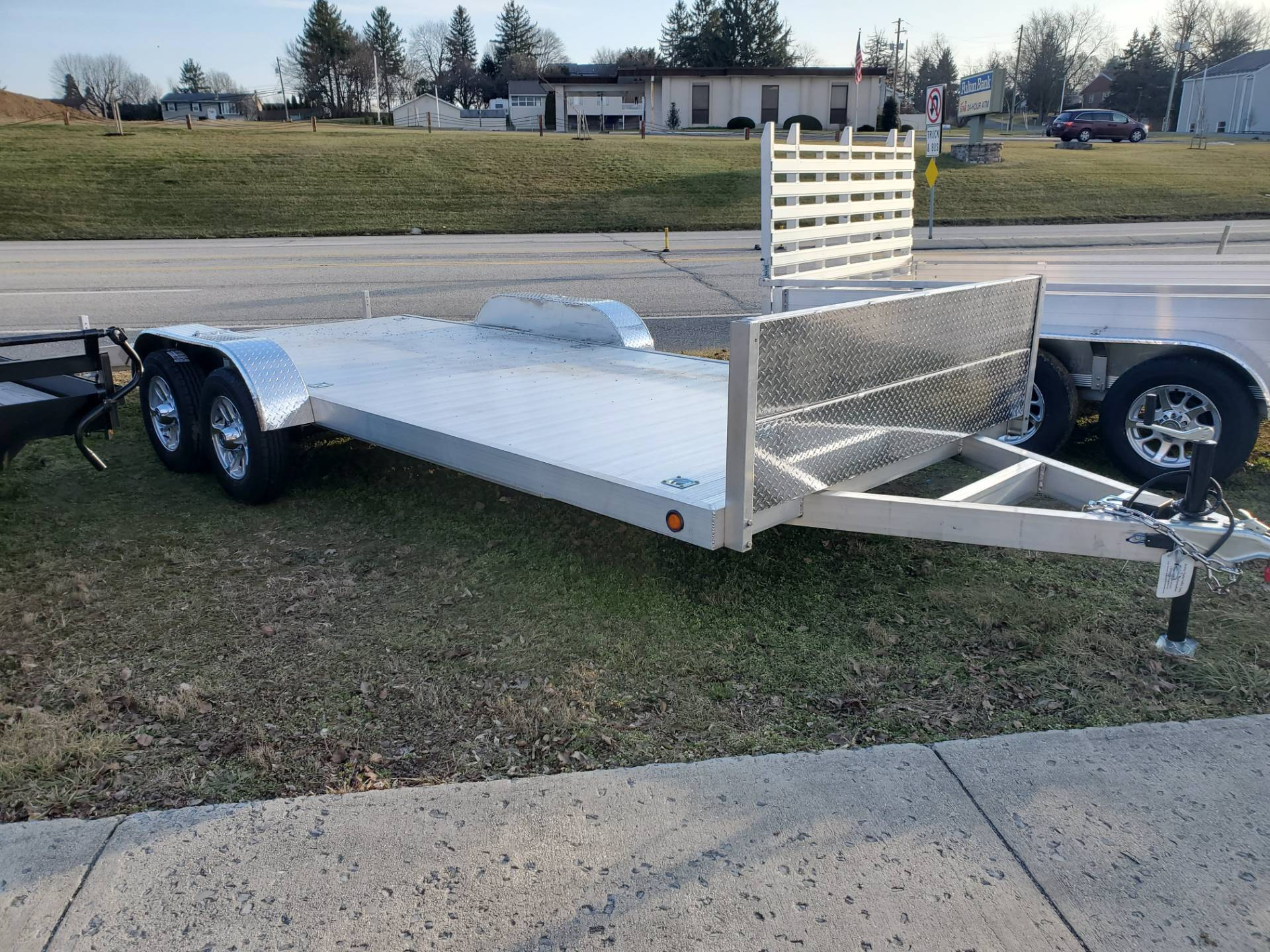 2022 Primo 82X18 Tandem Axle Car Hauler 7K in Harrisburg, Pennsylvania - Photo 1