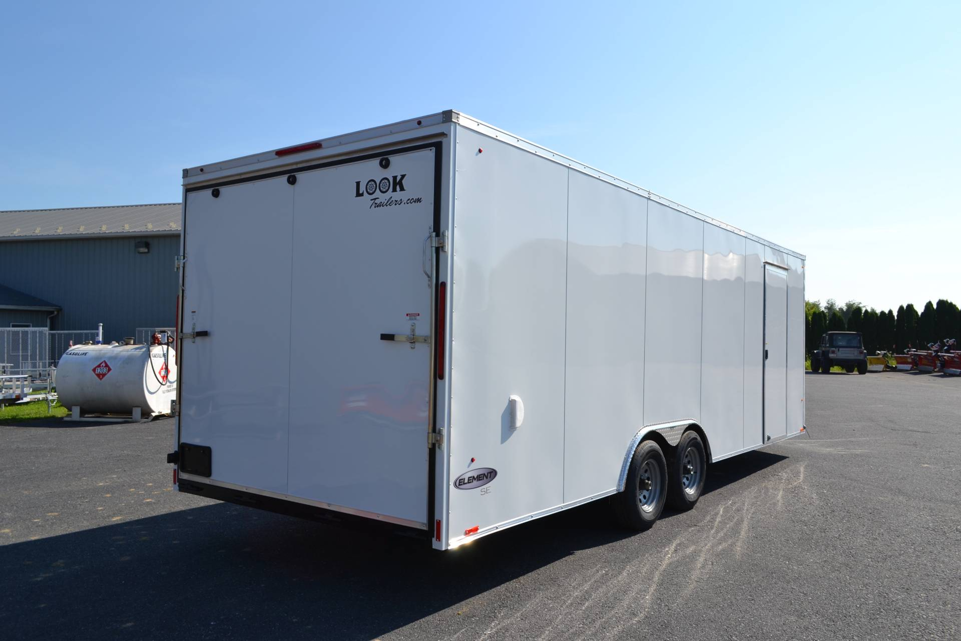 2020 Look Trailers 8.5X24 EWLC Cargo Trailer Ramp ET-10K+6 in Harrisburg, Pennsylvania - Photo 6